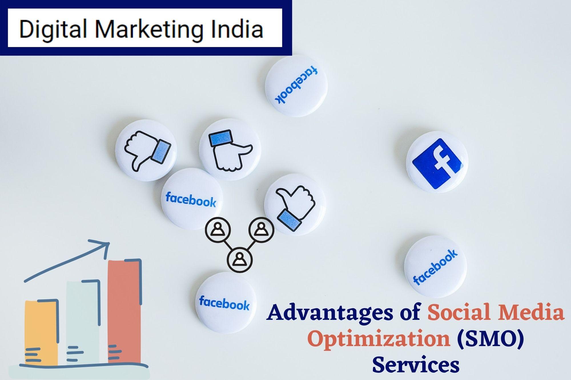 Advantages of Social Media Optimization (SMO) Services